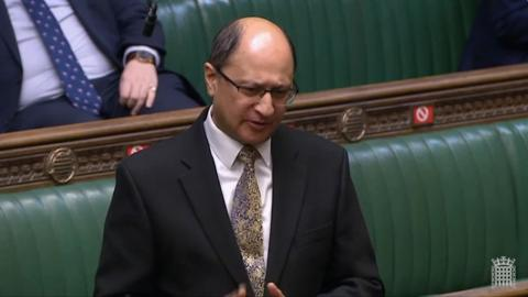 Shailesh Vara MP speaking in the House of Commons, Dec 2020